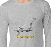 Concorde T-shirt, etc.  design Long Sleeve T-Shirt