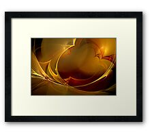 Blustering Waves Framed Print