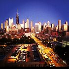 Chicago Skyline by 1grayweim