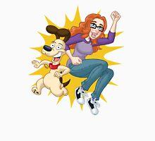 Jenn & Bueno: Action-Packed Jump!  Unisex T-Shirt