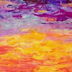 Wait Upon the Lord  (Sunset in Nicaragua) by Pamela Gregan