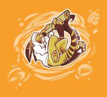 """Didgeri-Roo"" Kangaroo playing didgeridoo T-Shirt"