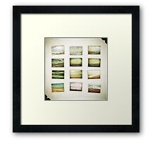 Love of the Sea - Collage Framed Print