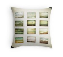 Love of the Sea - Collage Throw Pillow
