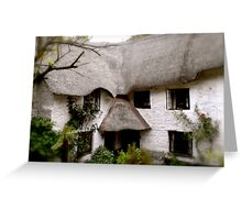 Devon Cottage Greeting Card