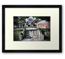 Raymond FS Pop Shuvit Framed Print