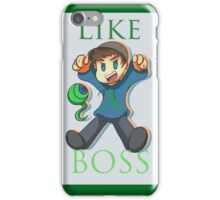 Jacksepticeye - Like a Boss!! iPhone Case/Skin
