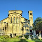 Church of St. Mary and St. Nicholas, Wilton, Wiltshire UK by Clive