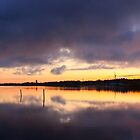 Oulu sunset by Dominika Aniola