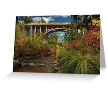 Historic Highway Bridge - Susan River Greeting Card