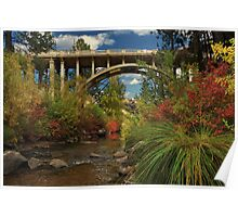 Historic Highway Bridge - Susan River Poster