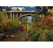 Historic Highway Bridge - Susan River Photographic Print