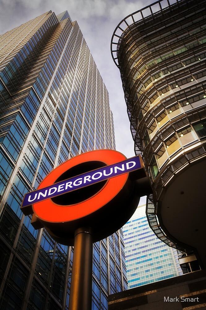 London Underground by Mark Smart
