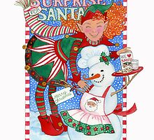 Elf & Snowman's Surprise for Santa by Laura J. Holman