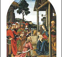 Pietro Perugino's Adoration by Harveylee