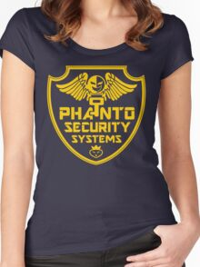 PHANTO SECURITY SYSTEMS Women's Fitted Scoop T-Shirt