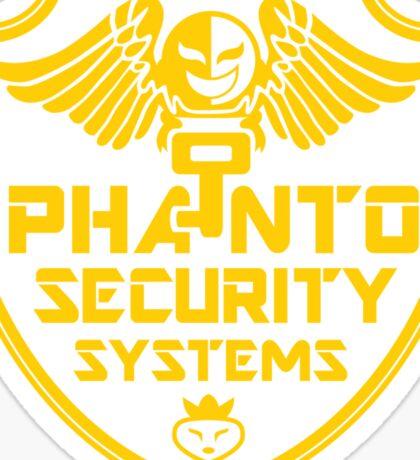 PHANTO SECURITY SYSTEMS Sticker