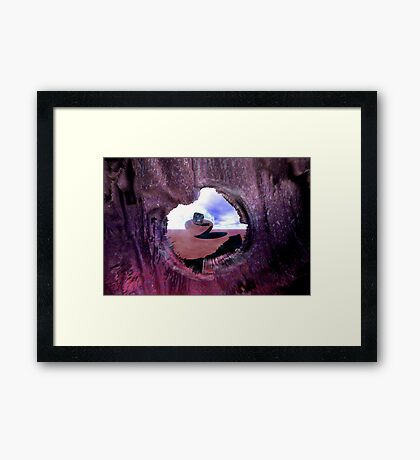 Illusions Are Rushing Through My Veins Like Fire Framed Print