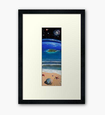 Spirals and Stars Framed Print