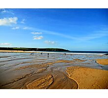 seaside surf Photographic Print