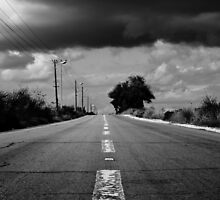 road to the clouds by Victor Bezrukov