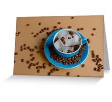 Eiskaffee Greeting Card
