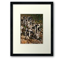 much-rooms? Framed Print