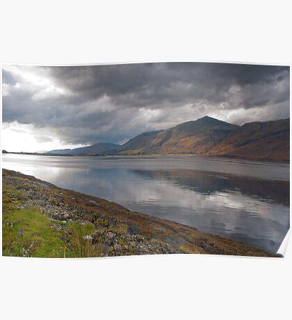 Clouds over Loch Eil Poster