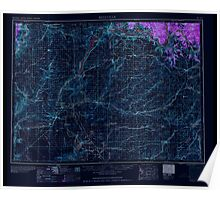 USGS Topo Map Washington State WA Ritzville 243470 1959 250000 Inverted Poster