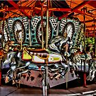 Carousel in Boston. by Lee d&#x27;Entremont