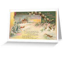 Thanksgiving Again Greeting Card