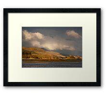 Late light on Loch Lubhair Framed Print