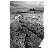 Bamburgh Castle No3 Poster