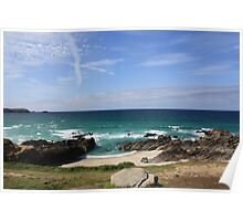 Fistral Beach Poster