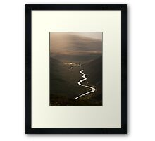 Glorious light in the Cairngorms Framed Print