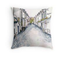 Ashton Lane, Glasgow Throw Pillow