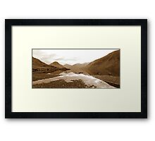Wastwater Panorama Framed Print