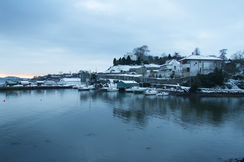 Aberdour Harbour in Winter by Steve Hammond