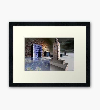City 2312 Framed Print