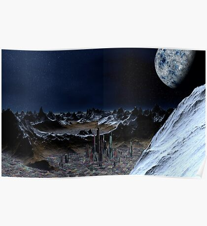 Crater Cities of Talos Freehold Poster