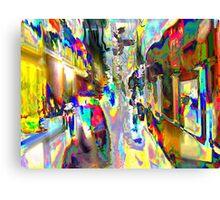 Color 360 Degrees Canvas Print
