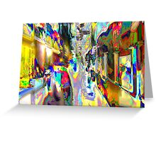 Color 360 Degrees Greeting Card