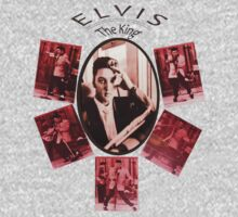 ELVIS - The King ! Kids Tee