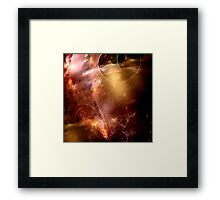 Chaos In Motion Framed Print