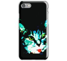 Derp Face Kitty iPhone Case/Skin