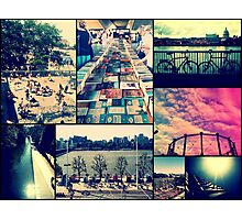 London Collage Photographic Print