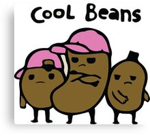 cool beans Canvas Print