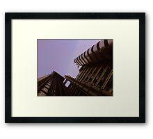 Lloyds London HQ from below Framed Print