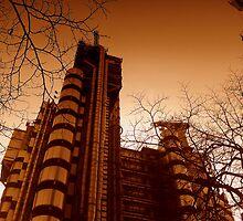 Lloyds London in Winter by Chris Millar