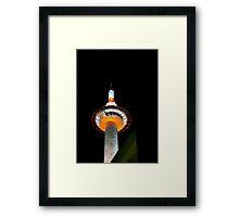 Kyoto Tower Framed Print